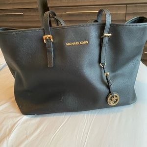Large MICHAEL KORS tote bag, REAL LEATHER